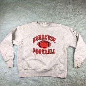 Vintage Champion Reverse Weave Syracuse Football L